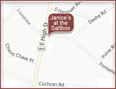 Janice's at the Satlbox at 859 E High St Lexington, KY 40502-2150